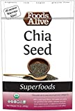 Foods Alive Warrior Size Chia Seeds, 16 Ounce