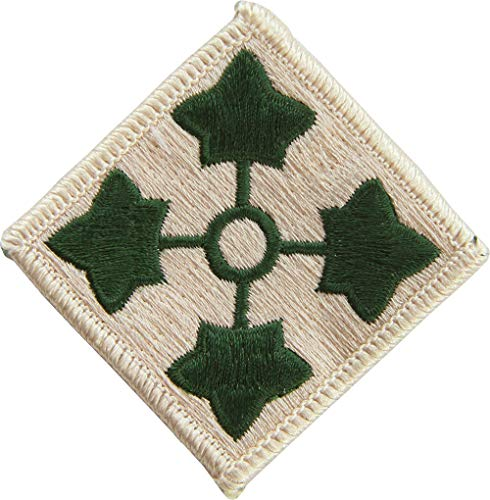 - 4th Infantry Division Patch Full Color