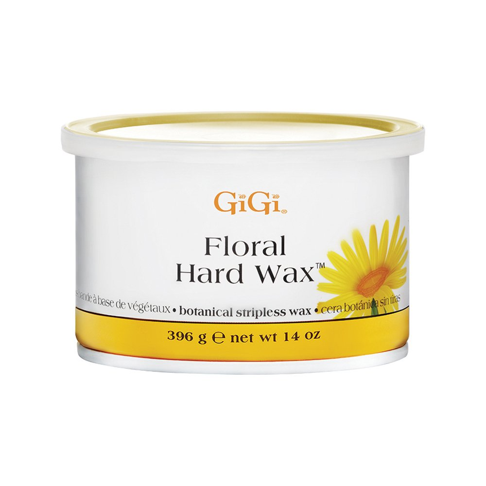 Gigi Hard Wax 0888 W/Floral Extracts 14-Ounce, 1 Count