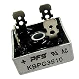 MagiDeal 1 piece 35A 1000V Single Phases Diode Bridge Rectifier Module KBPC5010