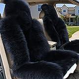 Peiji 2Pcs Luxury Interior Thick Wool Car Seat Cover Set ...