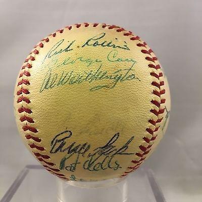 1968 Minnesota Twins Team Signed Baseball Harmon Killebrew - Autographed Baseballs