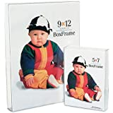 "MCS Original Clear Acrylic Box Picture Frame for a 8x10"" Photograph. (Pack of 12)"