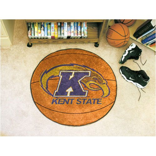 Basketball Floor Mat w Golden Eagle Logo - Kent State University (Kent State Basketball Rugs)