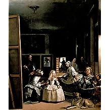 Diego Velazquez Las Meninas The Maids Honour 1656 Oil On Canvas Poster 12x18