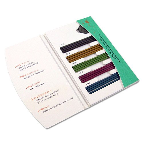 Shoyeido's Horin Incense Assortment - 20 sticks - incensecentral.us