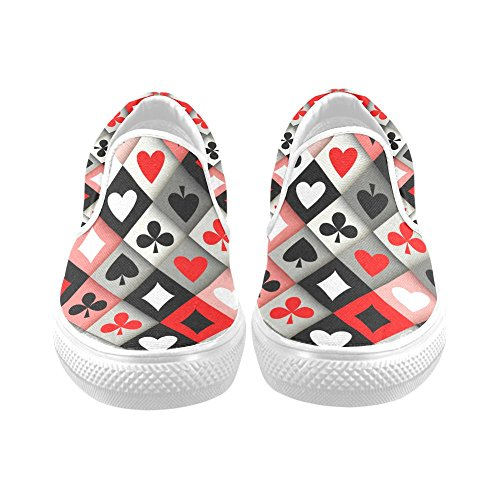 Unik Debora Tilpasse Mote Kvinners Joggesko Uvanlige Loafers Slip-on Canvas Sko Multicoloured31