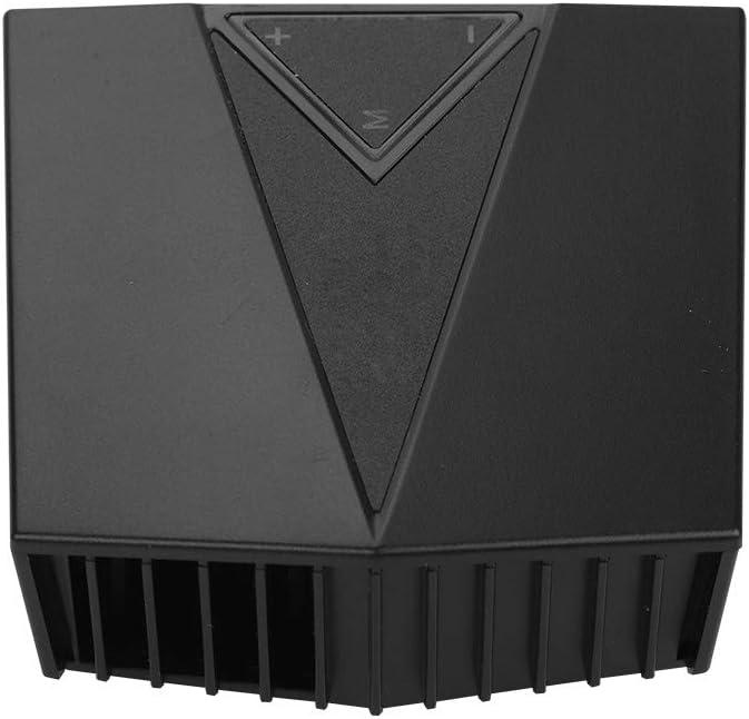 Tosuny Radiador de Ventilador de Enfriamiento Externo para Computadora Portátil, Radiador de Portátil con Pantalla Lateral de Temperatura, Mini Ventilador de Reducción de Ruido Protable para CPU
