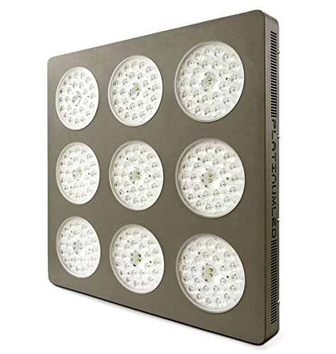 Advanced Platinum Series P9-XML2 855w 12-band LED Grow Light + CREE 10w XM-L2 w/ DUAL VEG/FLOWER FULL SPECTRUM