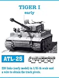 フリウルモデル 1/35 金属可動履帯 ティーガー I 初期型用 金属パーツ ATL-25