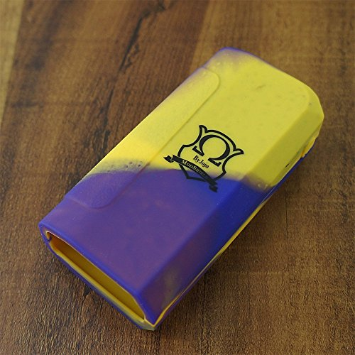 ModShield for IPV8 230W TC Pioneer4you Silicone Case ByJojo IPV 8 230 W Sleeve Shield Cover Wrap Skin (Yellow/Purple)