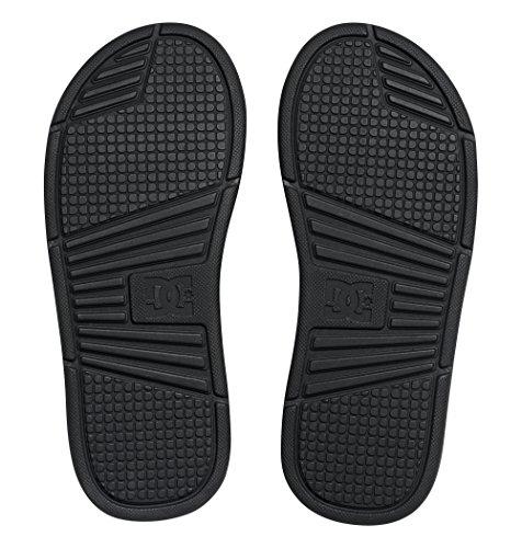 Mens Dc Schoenen Bolsa Douche Open Teen Zwembad Lichtgewicht Dias Strand Sandaal Zwart