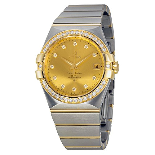 Omega-Constellation-Champagne-Dial-Steel-and-18kt-Yellow-Gold-Diamond-Ladies-Watch-12325352058001