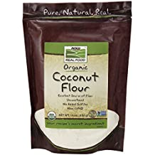 NOW Foods Organic Coconut Flour,16-Ounce