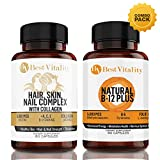 BestVitality – Vegan Safe All Natural Energy And Beauty Complex Bundle! 100% Natural Hair, Skin, Nails Vitamins And B Complex. Two of Our Best Selling Products for the Price of One – Made in USA Review
