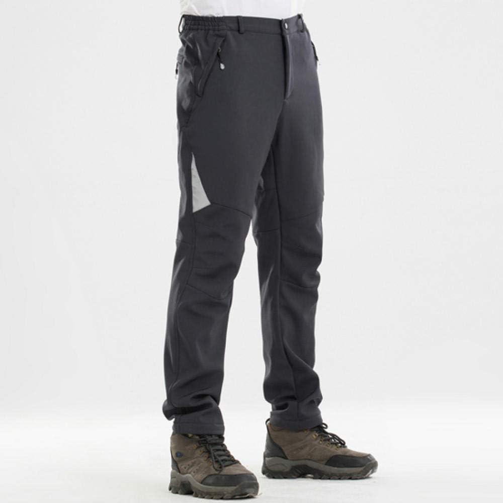 Outdoor Waterproof Winter Thermals Pants Men Windproof Hiking Skiing Trousers