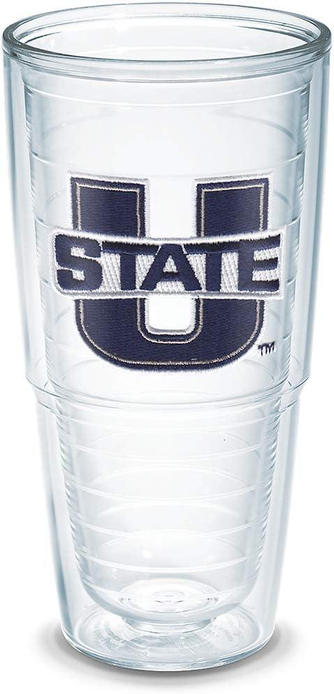Tervis Utah State University Emblem Individual Tumbler, 24 oz, Clear -