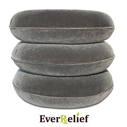 EverRelief Cervical Neck Traction Device FDA Registered ✮ Inflatable & Adjustable Neck Stretcher Collar for Home Traction Spine Alignment by EverRelief (Image #6)