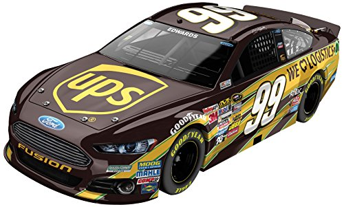 Carl Edwards #99 UPS Ford Fusion 2014 NASCAR Diecast Car, 1:24 Scale - Ups Lionel