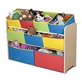 Delta Multi-Color Deluxe Toy Organizer with Storage Bins