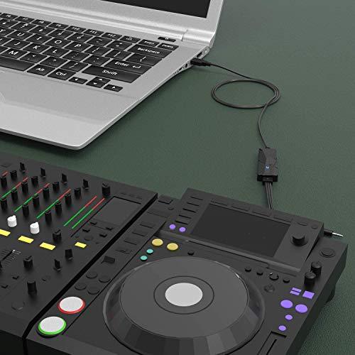 PC Audio Digitizer - USB 2.0 Audio Capture Converter for Windows 10 / 8 / 7
