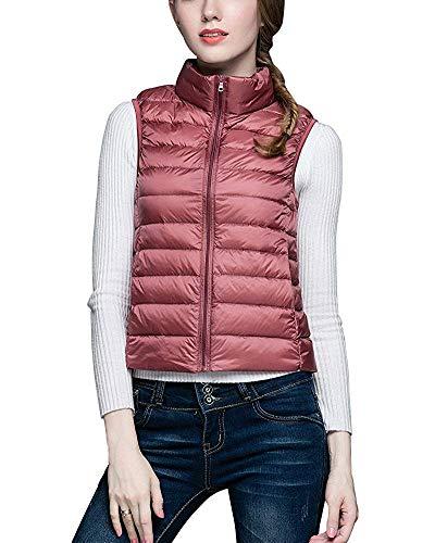 Ultra L Jacket Léger Oudan Puffer Taille Femmes Rose Coat Pour Gilet coloré ZPxwInqCfw