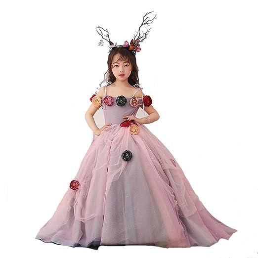 Jxth Niños niñas Boda Prom Vestidos de Princesa Niñas Princesa ...