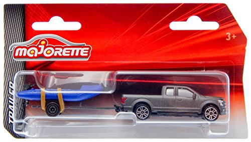 Ford F-150 with Boat Trailer 3-inch Toy Car