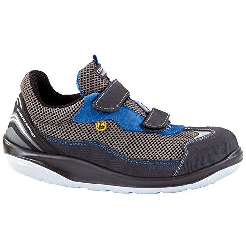 Giasco ER125K45 Safety shoe'Hawaii' S1P, Size 10.5, grey/blue