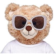 Build-a-Bear Workshop Honey Girls Silver Glitter Sunglasses