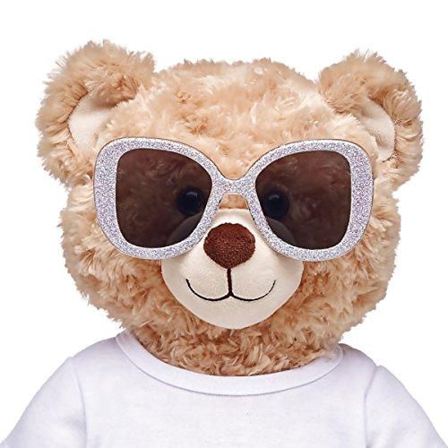 Build-a-Bear Workshop Honey Girls Silver Glitter - Sunglasses Build