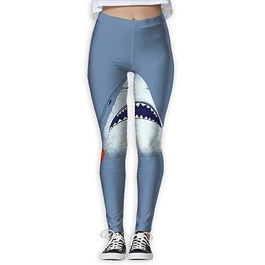 Amazon.com: Hip Hop Shark - Mallas de yoga para mujer: Clothing