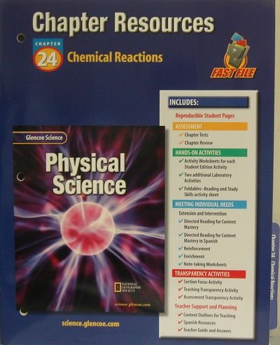 Glencoe Science: Physical Science- Chapter Resources, Chapter 24 ...