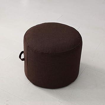 Meditation Pillow Floor Cushion, Zafu Yoga Bolster Seat Cushioning Tatami Floor futon Cushion Oversize Thick Epe Foam Filled-Black Coffee ...