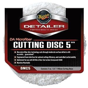 """Meguiar's DMC5 5"""" DA Microfiber Cutting Disc, (Pack of 2)"""