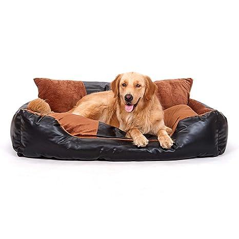 Cojín de Cama de Perro Caliente para Mascotas Suministros para Mascotas Perrera extraíble y Lavable Perro