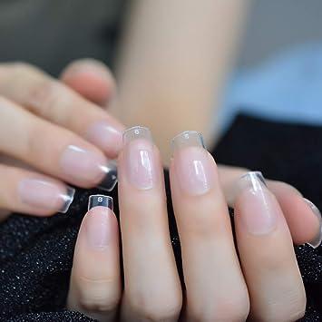 EchiQ - Pegamento para uñas postizas de acrílico transparente para ...