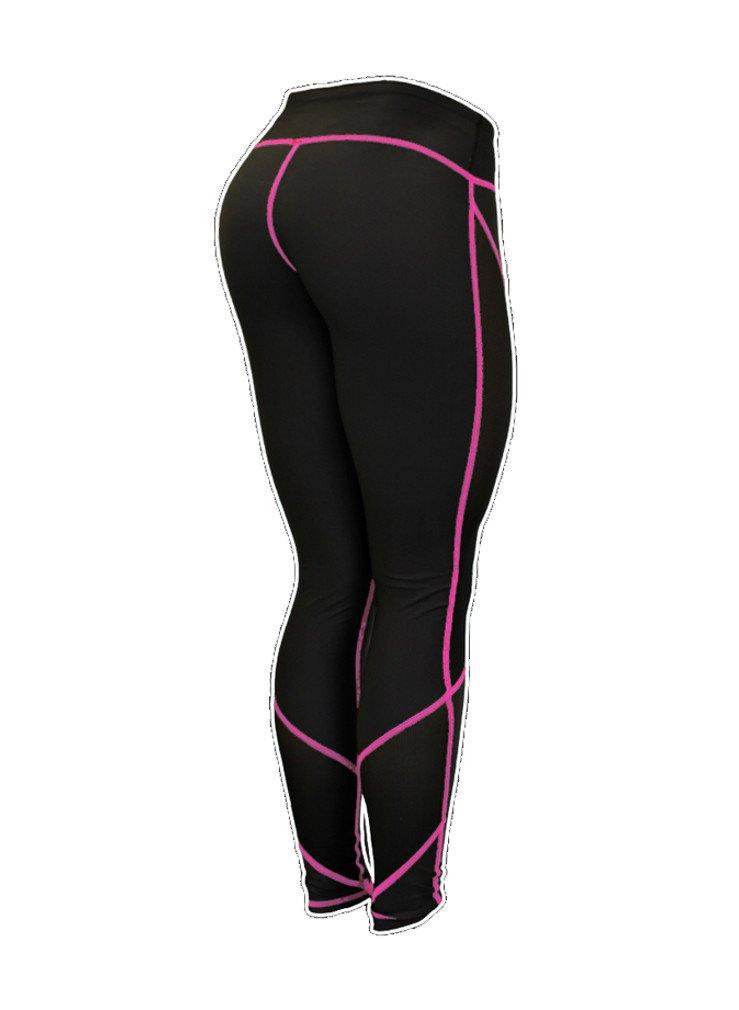 Six Deuce Mesh Black Pink Pants Fitness Leggings
