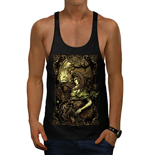 Mother Of Nature Fantasy Men M Gym Tank Top | Wellcoda (Spells To Do On Halloween)