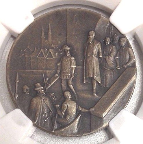 1920 CH Swiss 1920 Silver Shooting Fest Medal Zurich R-18 coin Good