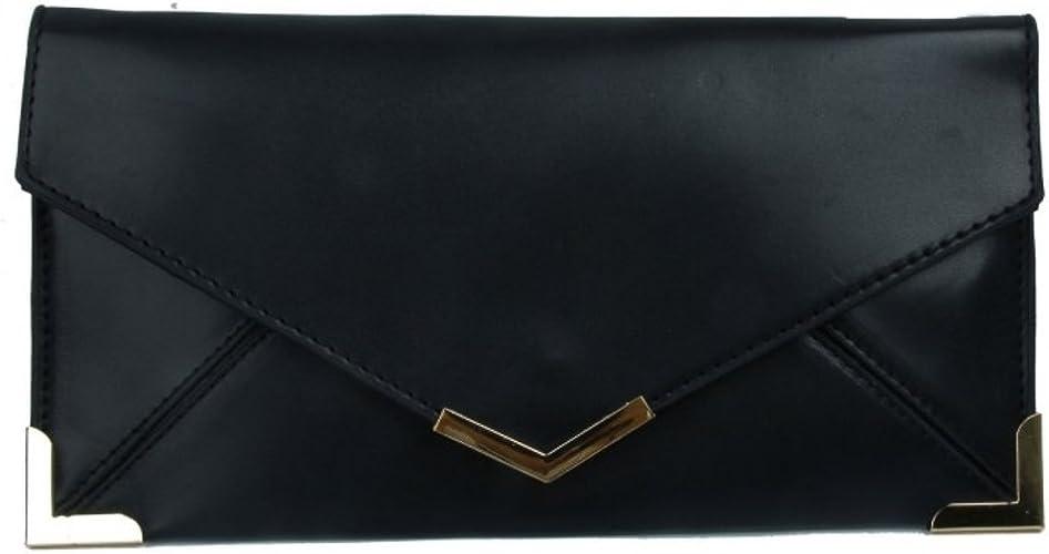 New Women Faux Suede Clutch Bag Bridal Designer Ladies Evening Party Handbag UK