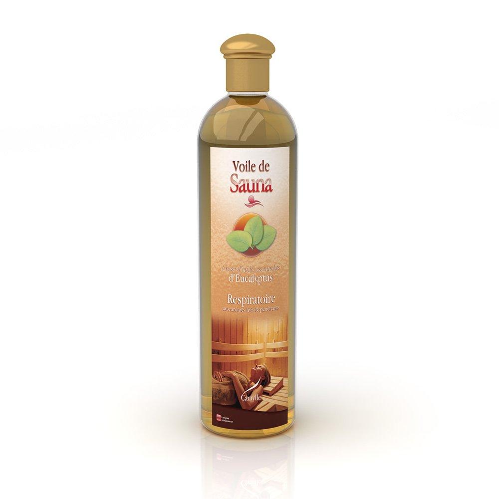 Camylle - Voile de Sauna - Sauna Fragrance based on pure Essential Oils – Eucalyptus - Respiratory – 500ml