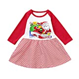 Christmas Costume Newborn Baby,Baby Girls Xmas Party Outfits,for 0-4years Kids Toddler Kids Baby Girls Santa Claus Splice Dress Christmas Party Dress Outfits