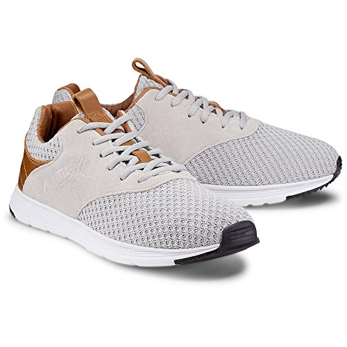 Cox Herren Fashion-Sneaker grau-hell