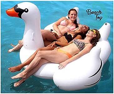 Beachtoy Colchoneta hinchable gigante para playa o piscina, diseño ...