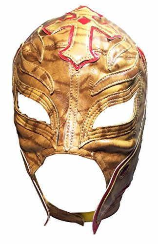 WWE REY MYSTERIO Youth Size Tiger Design Replica MASK by Main Street 24/7