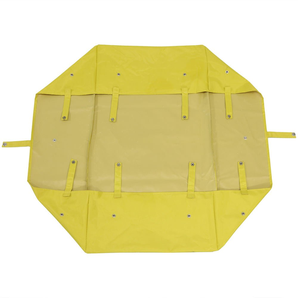Sunnydaze Liner for Garden Utility Cart, Heavy-Duty Polyester, Yellow, Liner ONLY