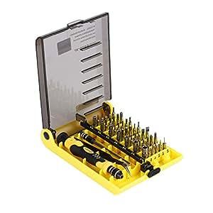 Outad 45 in 1 tool kit mini portable precision - Destornilladores de precision ...