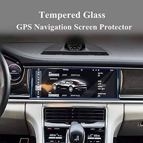 強化ガラスGPSナビゲーション画面プロテクターポルシェパナメーラfor 2017 BONGZUO