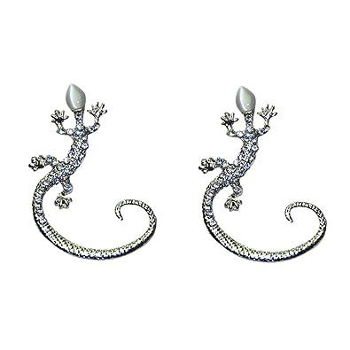accessoires Nouvel Pour Femmes Les En Forme Geckos La De Boucles À D'oreilles Style 67yYbgfv